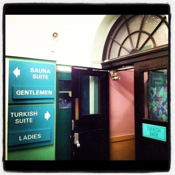 Entrance way, Newcastle Turkish Baths
